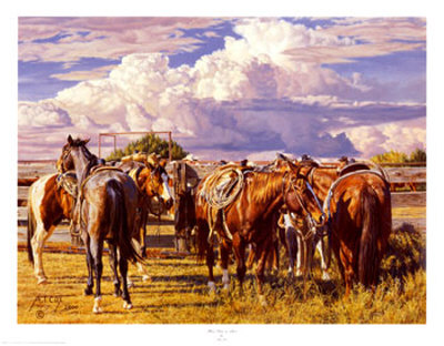 Their Turn To Rest by Tim Cox Pricing Limited Edition Print image