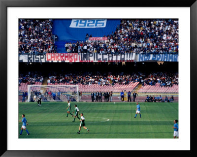 Football Match At Stadio San Paolo, Naples, Italy by Jean-Bernard Carillet Pricing Limited Edition Print image