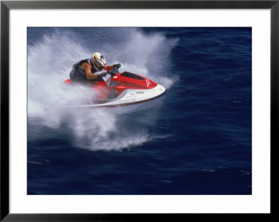 Jet Skiing by Bob Coates Pricing Limited Edition Print image