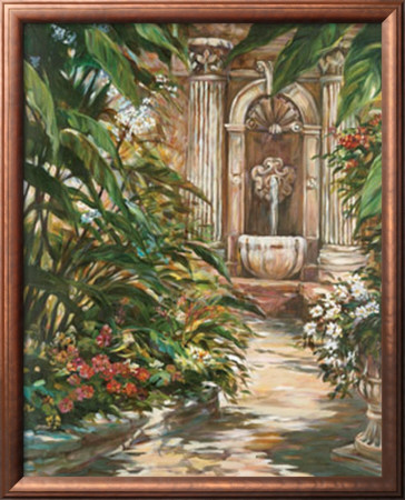 Garden Path by Liv Carson Pricing Limited Edition Print image