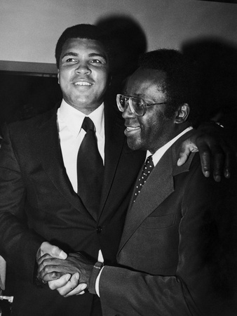 Muhammad Ali And Richard Hatcher by Guy Crowder Pricing Limited Edition Print image