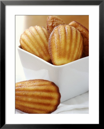 Lemon Madeleines In A Dish by Alain Caste Pricing Limited Edition Print image