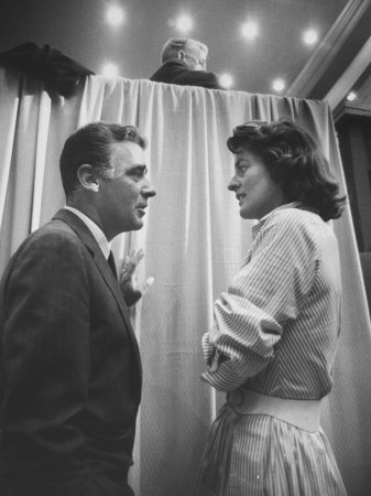 Entertainer Peter Lawford And His Wife, Pat Kennedy, At The 1960 Democratic National Convention by Ed Clark Pricing Limited Edition Print image