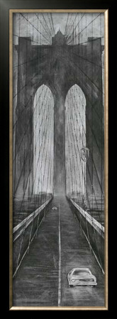 Brooklyn Bridge by L. Cartier Pricing Limited Edition Print image
