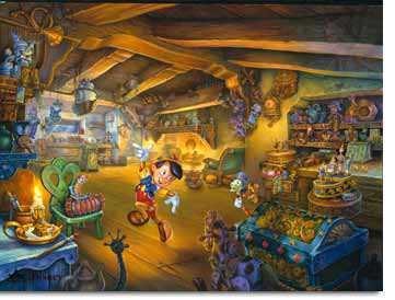 Pinocchios Magi by Tom Dubois Pricing Limited Edition Print image