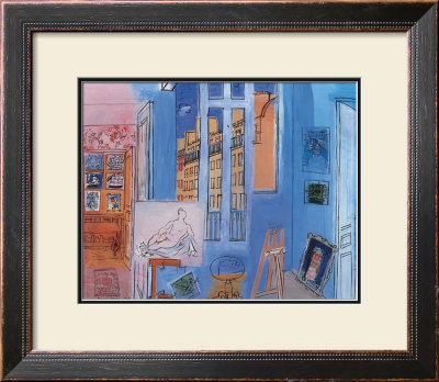 Artist's Studio by Raoul Dufy Pricing Limited Edition Print image
