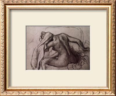Woman Drying Her Neck by Edgar Degas Pricing Limited Edition Print image