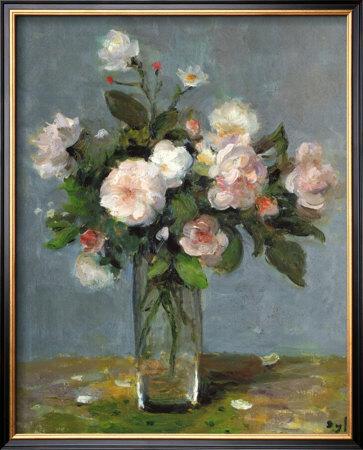 Les Roses De Jacqueline by Marcel Dyf Pricing Limited Edition Print image