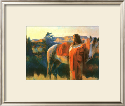 Cheyenne Mother by Tom Darro Pricing Limited Edition Print image