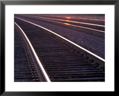 Railroad Tracks by Mitch Diamond Pricing Limited Edition Print image