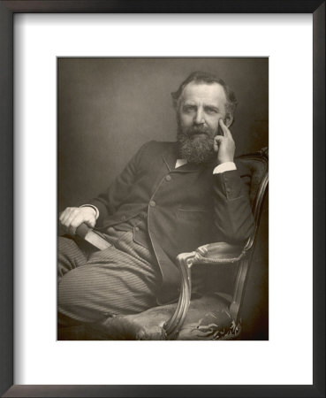 William Thomas Stead English Journalist In 1893 by W&D Downey Pricing Limited Edition Print image