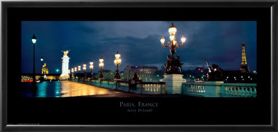 Paris, France by Jerry Driendl Pricing Limited Edition Print image
