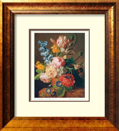 Roses, Tulips & Poppies by Jan Frans Van Dael Pricing Limited Edition Print image