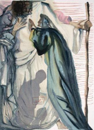 Dc Purgatoire 14 - Un Esprit Interroge Dante by Salvador Dalí Pricing Limited Edition Print image