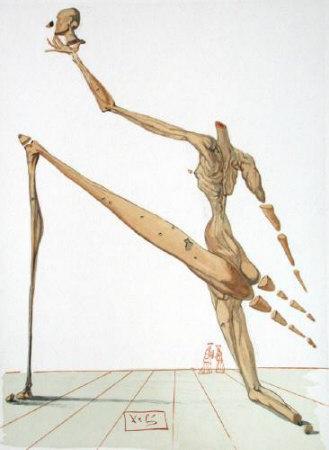 Dc Enfer 28 - Bertrand De Born by Salvador Dalí Pricing Limited Edition Print image
