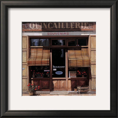 Magasin A Vendre by Peter Evans Pricing Limited Edition Print image