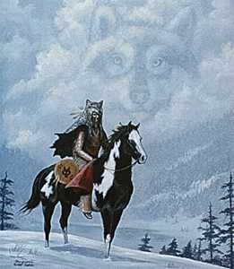 Soul Of Wolf by Marguerite Fields Pricing Limited Edition Print image