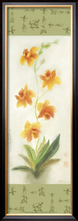 Yellow Orchid by Suzanna Mah Fong Pricing Limited Edition Print image