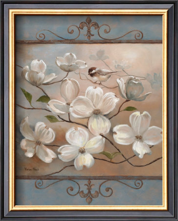 Dogwood Splendor by Vivian Flasch Pricing Limited Edition Print image