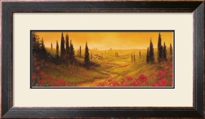 Toscano Panel Ii by Art Fronckowiak Pricing Limited Edition Print image