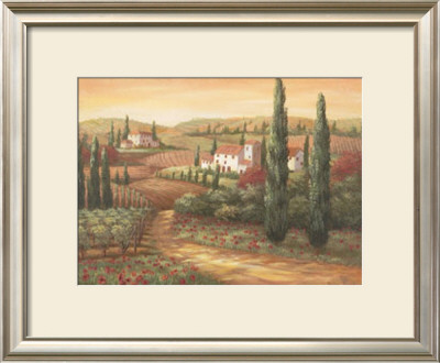 Tuscan Sunset Ii by Vivian Flasch Pricing Limited Edition Print image