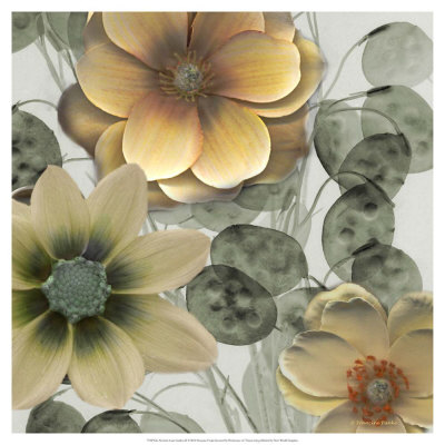 Neutral Asian Garden Ii by Francine Funke Pricing Limited Edition Print image