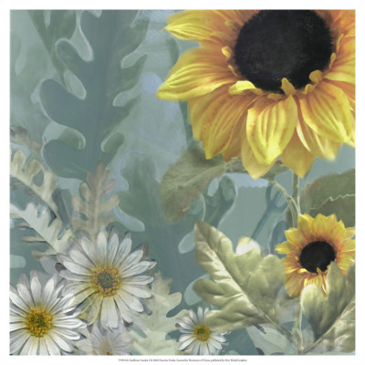 Sunflower Garden I by Francine Funke Pricing Limited Edition Print image