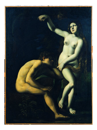 Adam And Eve by Giovanni Fattori Pricing Limited Edition Print image