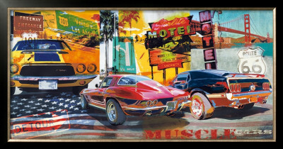 Muscle Cars by Ray Foster Pricing Limited Edition Print image