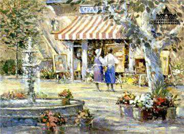 Art Gallery by L Gordon Pricing Limited Edition Print image