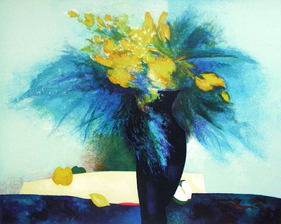 S - Jonquilles by Claude Gaveau Pricing Limited Edition Print image
