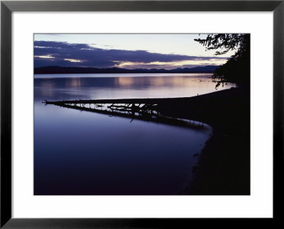 Yellowstone Lake At Dawn, Yellowstone National Park, Wyoming by Raymond Gehman Pricing Limited Edition Print image