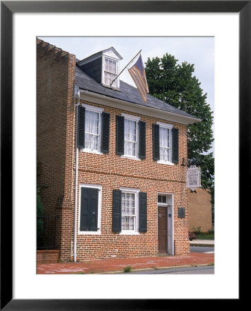 Star Spangled Banner House, Baltimore, Md by Mark Gibson Pricing Limited Edition Print image