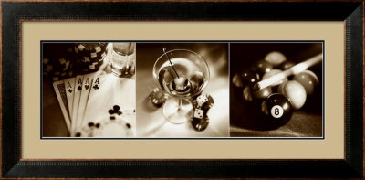 Casino Royale Ii by Julie Greenwood Pricing Limited Edition Print image
