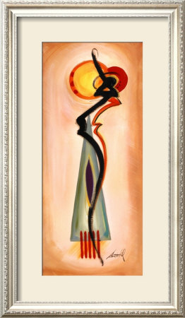 Chanteuse I by Alfred Gockel Pricing Limited Edition Print image