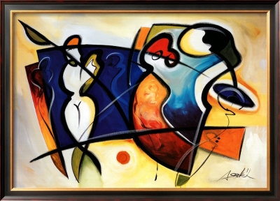 Gallery Open I by Alfred Gockel Pricing Limited Edition Print image