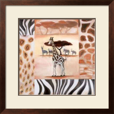 Animals Of The Veldt: Giraffe by Alfred Gockel Pricing Limited Edition Print image