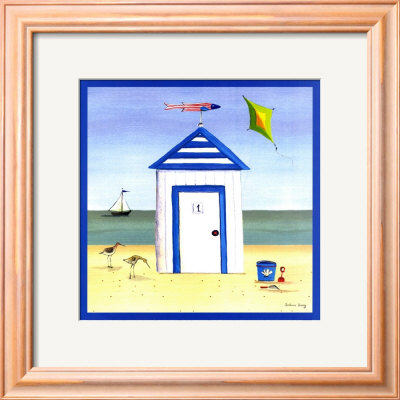 Beach House I by Katharine Gracey Pricing Limited Edition Print image