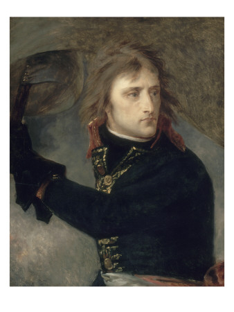 Napoleon On The Bridge At Arcole, 1796 by Antoine Jean Gros Pricing Limited Edition Print image