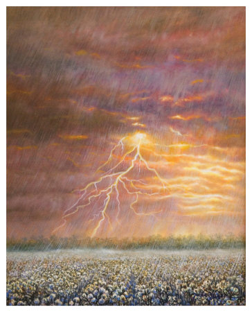 Fire And Rain by Jerrie Glasper Pricing Limited Edition Print image