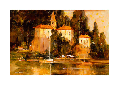 Morning Light, Lake Como by Ted Goerschner Pricing Limited Edition Print image
