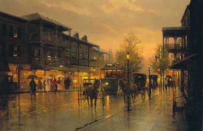 Royal Street by G Harvey Pricing Limited Edition Print image