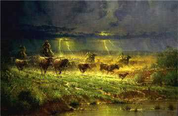 Rawhide Thunder by G Harvey Pricing Limited Edition Print image