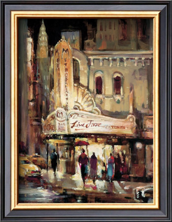 Metropolitan Jazz by Brent Heighton Pricing Limited Edition Print image