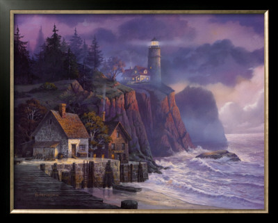 Harbor Light Hideaway by Michael Humphries Pricing Limited Edition Print image