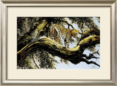 Leopard Sentry by Spencer Hodge Pricing Limited Edition Print image