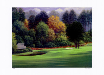 Augusta, 11Th Hole by Brent Hayes Pricing Limited Edition Print image