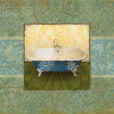 Tapestry Bath Ii by Mauricio Higuera Pricing Limited Edition Print image