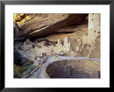 Old Cliff Dwellings And Cliff Palace In The Mesa Verde National Park, Colorado, Usa by Gavin Hellier Pricing Limited Edition Print image