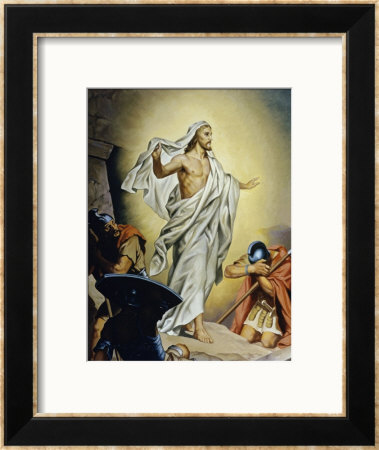 The Resurrection Of Jesus by Heinrich Hofmann Pricing Limited Edition Print image